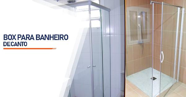 Box de Canto para Banheiro  Ribeirão Preto