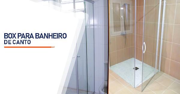 Box para Banheiro de Canto Ribeirão Preto