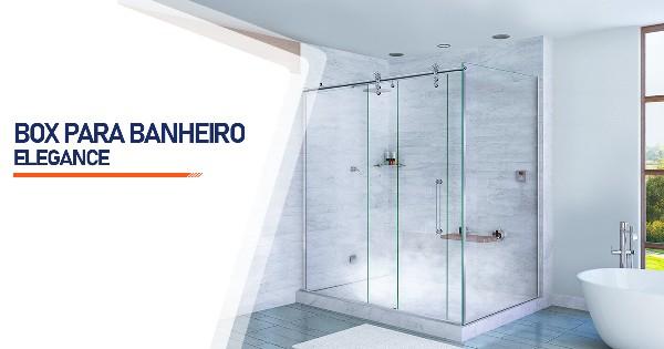 Box para Banheiro Elegance  Ribeirão Preto