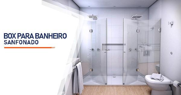Box para Banheiro Sanfonado Ribeirão Preto