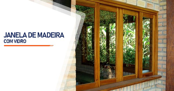 Janela De Madeira Com Vidro Ribeirão Preto