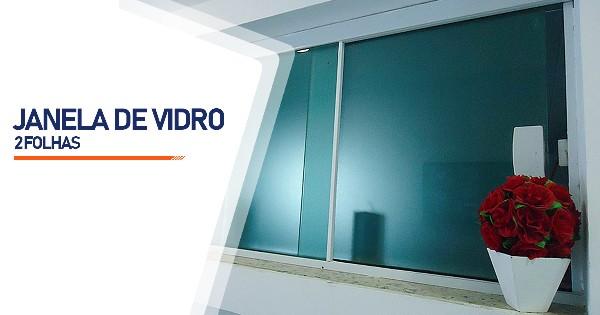 Janela De Vidro 2 Folhas Ribeirão Preto