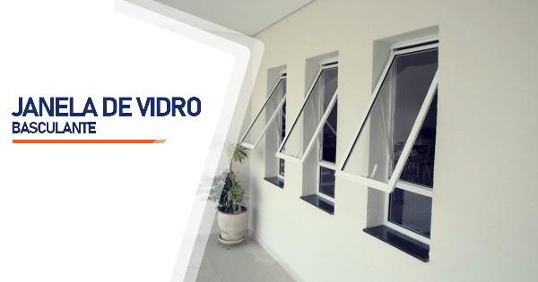 Janela De Vidro Basculante Ribeirão Preto