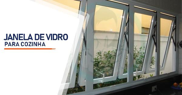 Janela de Vidro para Cozinha Ribeirão Preto