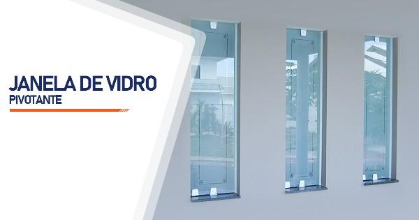 Janela Pivotante De Vidro Ribeirão Preto