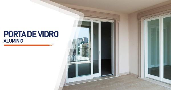 Porta De Vidro Aluminio Ribeirão Preto