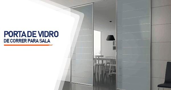 Porta De Vidro De Correr Para Sala Ribeirão Preto
