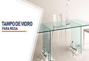 Tampo de Vidro Para Mesa Ribeirão Preto