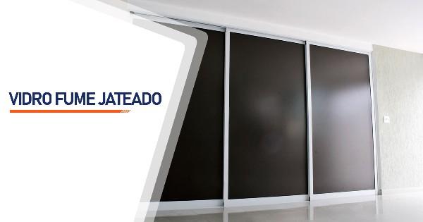Vidro Fume Jateado Ribeirão Preto