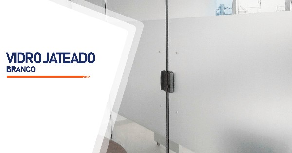 Vidro Jateado Branco Ribeirão Preto