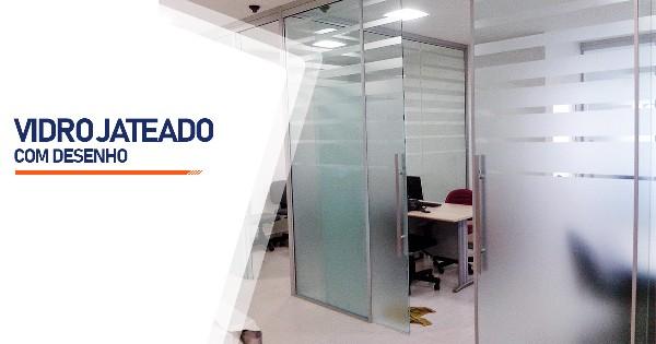 Vidro Jateado Com Desenho Ribeirão Preto